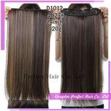 一つの毛の拡張100%人間の毛髪クリップ