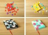 Cahier neuf de puzzle de couverture de silicones