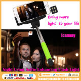Kjstar Wireless Selfie Stick Bluetooth Monopod para o iPhone/Samsung (Z07-5)