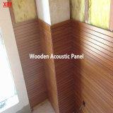 劇場の木の音響パネルの壁パネルの天井のための壁のクラッディングの壁のタイトル