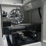 アルミニウムCNCの車輪修理旋盤の切断の工作機械Awr32h