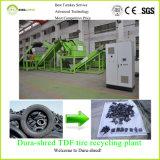Gomma utilizzata che ricicla macchina