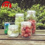 ترويجيّ طعام تخزين مرطبان مرطبان زجاجيّة لأنّ سكّر نبات مرطبان سدود زجاجيّة