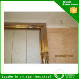 Hotel Decorationのための304ステンレス製のSteel Decorative Sheets Door Frame