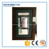 Schommeling die van het Openslaand raam van het Aluminium van de Kleur van Roomeye de Witte met Aangemaakt Glas openen