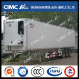 Cimc reboque Refrigerated 3axle de Huajun