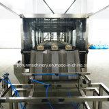 5ガロンの蒸留水のびんの満ち、キャッピング機械