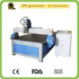 El aluminio del formato grande perfila el ranurador de madera del CNC de la tabla