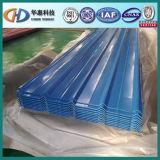 Tôle d'acier ondulée enduite d'une première couche de peinture de fabrication de la Chine