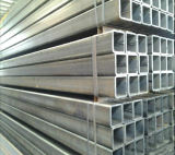 Tubo d'acciaio galvanizzato Hot-DIP caldo di vendita Q235 50X50mm/tubo/tubo quadrati d'acciaio