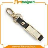 Рекламировать творческий изготовленный на заказ кожаный ключевой держатель