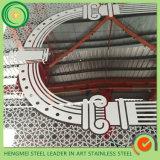 Höhenruder-Tür-dekorative Edelstahl-Blatt-Radierung vom Foshan-Lieferanten