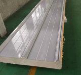 el panel de la azotea del emparedado de la espuma de la placa de acero PIR de 0.8m m con la certificación del SGS