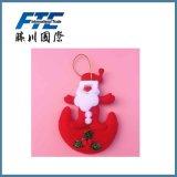 Poupée de cadeau de décoration d'arbre de Noël
