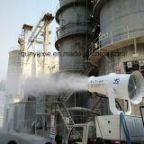 Abbattimento delle polveri del cannone della nebbia