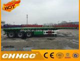 Полуприцеп трейлера Flated машинного оборудования инженерства нагрузки 3 Axles/контейнера Lowbed