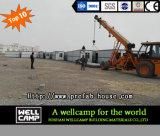 Camera piegante del contenitore per il campo di lavoro prefabbricato in Arabia Saudita