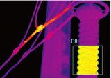 Industria que controla el detector termal infrarrojo de mano de la temperatura