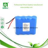 batería de litio 2000mAh de 2s1p 7.4V 18650 para la cámara del CCTV
