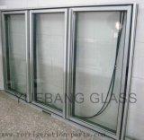 Chambre froide de porte en verre