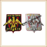 Customed algum emblema do tipo de pano da forma (WL106)