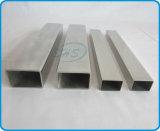 Pipes rectangulaires d'acier inoxydable pour la rambarde de balcon
