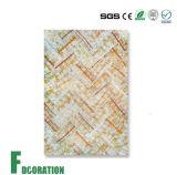 건축재료 인공적인 대리석 디자인 PVC 벽면