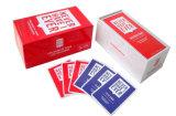 Mancharlo juego de tarjetas de papel