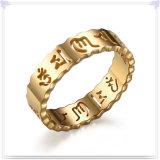 Anillo de dedo de los complementos de la joyería del acero inoxidable (SR283)