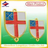 Pin suave de la divisa del metal del esmalte, divisa de la medalla de oro de la aleación del cinc (LZY-1000069)