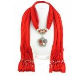 L'écharpe de bijou charme les écharpes pendantes de pierre gemme 13 couleurs