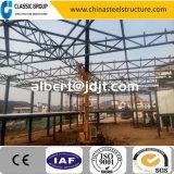 Modèle facile de salle d'exposition de véhicule de structure métallique de Multi-Étage de construction de coût bas