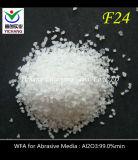 サンドブラスティングのための白い鋼玉石(F20 F24 F30、F36、F46、F54、F60、F80)