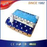 Almofada elétrica do colchão do velo colorido com proteção do superaquecimento