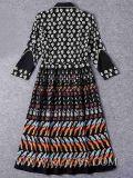 Neue Form-Frauen, die Dame-Silk Blumenabschlußball-Kleid kleiden