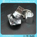 Movimentação de cristal do flash do USB de Keychain da forma do perfume do diamante (ZYF1525)