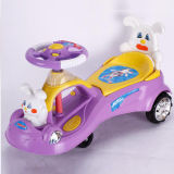 Горячая езда автомобиля закрутки детей сбывания на автомобиле качания игрушки на сбывании