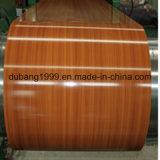 PPGI com projeto de madeira com a alta qualidade na espessura 0.18~0.8mm