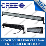 "43 ""240W CREE LED Driving Light, 80 * 3W CREE LED Light Bar, barre de travail avec Spot / Flood / Combo Beam, 4X4 Drive Lights"