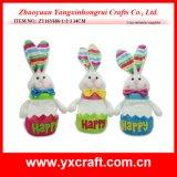 Fiole de lapin de la décoration de Pâques grande (ZY15Y355-1-2-3)