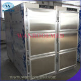 Холодильник оборудования покойницкой нержавеющей стали холодильника мёртвого тела Ga306