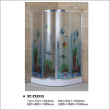 6mm de cristal templado de cristal ducha recinto para baño