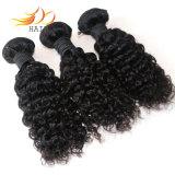 熱い販売100%のインド人のRemyの人間の毛髪の高品質の毛の拡張
