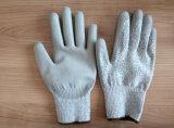 Отрежьте уровень покрынный PU безопасности сопротивления перчатки 3