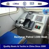 Barco 1300 da patrulha de Bestyear