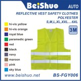 100% Polyster 120GSM Cheap Safety Reflective Vest