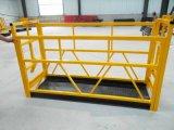 Алюминиевая гондола конструкции чистки фасада Zlp500
