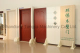 Ligne de production de panneaux de porte en plastique PVC en bois