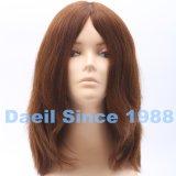 Parrucca dei capelli delle donne dei capelli umani di Remy nel colore naturale
