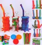 Waterpijp van het Glas van Perc van de Boom van Hbking de In het groot, Grote Rokende Waterpijpen, de Waterpijpen van het Silicone